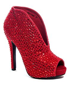 Look what I found on #zulily! Red Studded Precious Pump #zulilyfinds