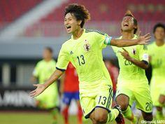 ぱくにゅー: 【サッカーアジア選手権U-19】 日本 2 - 1 韓国  日本まさかの一位予選通過!!