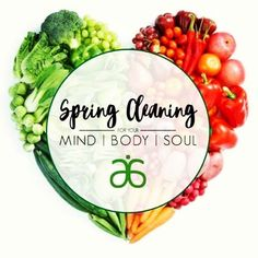 Spring cleaning! Time to get ready for summer with clean eating and better healthier habits  Visit my page www.daniellenlee.arbonne.com
