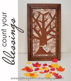 This gratitude tree is the perfect activity to help your family focus on gratitude and makes a lovely addition to your fall home decor too!