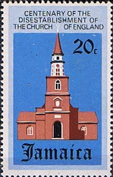 Jamaica 1971 Disestablishment of the Church SG 330 Fine Used Scott 329 Other West Indies and British Commonwealth Stamps HERE!
