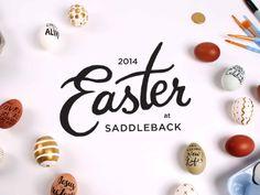 Dribbble - Easter at Saddleback 2014 by Emily Okada