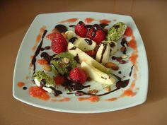 #Piatto di #frutta @Come Guarnire I Piatti