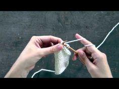 Slip Slip Knit (ssk) - Decrease method