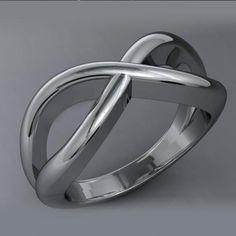 anillo infinito de plata  plata joyería de autor