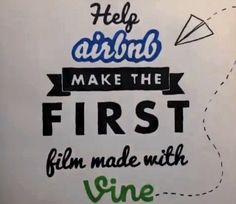 Airbnb e Vine: un vero film con micro video da 6 secondi Vines, Film, Twitter, How To Make, Decor, Movie, Decoration, Film Stock, Cinema