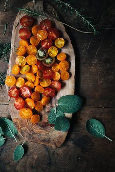 oven roasted tomatoes -  by julie marie craig, via Flickr