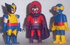 lobezno, magneto y cíclope clicks...