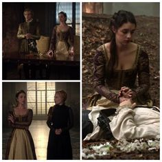 Mary's Purple and Gold Dress 3x05: In a Clearing