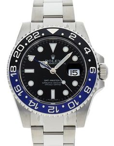 Buy Rolex GMT Master II 116710 BLNR | Watchmaster.com 40 mm Steel