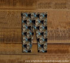Unique Baby Leggings featuring 'Queen of Broken Hearts' artwork by Sandy Richter and available for purchase at Art of Where
