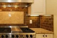 tile colors that look good with santa cecilia granite | what type of backsplash looks good with Santa Cecila countertops ...maybe too dark