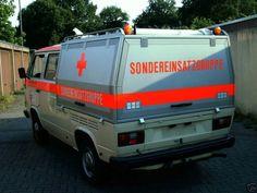 Vw T3 Doka, Ambulance, Recreational Vehicles, Volkswagen, Automobile, Ads, Model, Cargo Van, Car