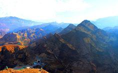 гора и тоннель Ахульго. Северный Кавказ. Дагестан, Россия © Шамиль Магомедов