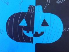 Fifth Grade- Positive/Negative Pumpkins with Symmetry