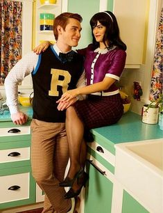 #Riverdale - #ArchieAndrews #VeronicaLodge
