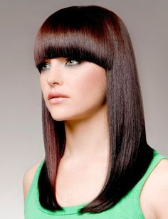 Smooth Long Hairstyle for Women