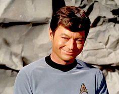 Leonard McCoy God bless you, De, wherever you are. Star Trek Theme, Star Wars, Star Trek Bones, Leonard Mccoy, Star Trek Convention, Star Trek Images, Star Trek Original Series, Star Trek Universe, Star Trek Enterprise