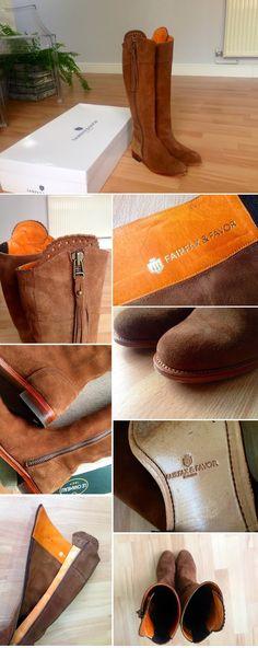 Fairfax & Favor Regina Boots. See more photos of me wearing my boots on my blog here: http://www.charlotteinengland.com/2015/05/recent-purchase-regina-fairfax-favor.html
