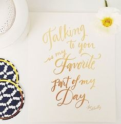 Talking to you is my favorite part of my day http://rstyle.me/n/n2t95nyg6