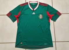 ADIDAS  Mexico National Team 2010 Soccer Jersey Men's Large  #adidas #Mexico