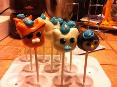 Octonauts cakepops!
