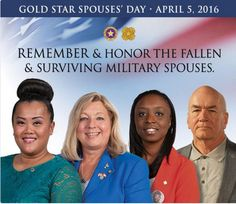 Today we honor our Gold Star Spouses - http://www.iloveusa.com/military/today-we-honor-our-gold-star-spouses/?utm_source=Pinterest&utm_medium=Pinterest&utm_campaign=SNAP%2Bfrom%2BILoveUSA.com