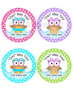 photo relating to Owl Miss You Printable known as Pinterest