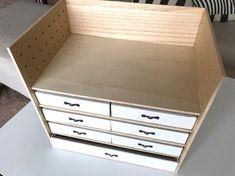 Diy Home Crafts, Diy Home Decor, Box Shelves, Wood Furniture, Life Hacks, Kids Room, Woodworking, Storage, House