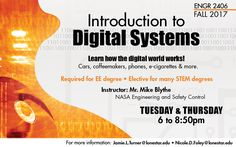 Fall 2017 Class - Introduction to Digital Systems. Learn how the digital world works at #LSCKingwood
