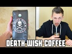 WORLD'S STRONGEST COFFEE!!! (Deathwish Coffee Review) - YouTube
