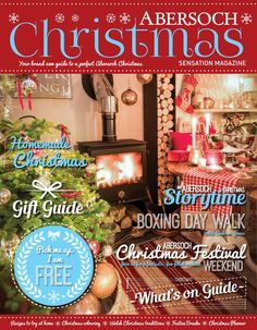Abersoch Christmas magazine 2014  Brand new for 2014, our guide to a perfect Abersoch Christmas!