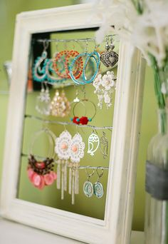Cute idea for your ear rings