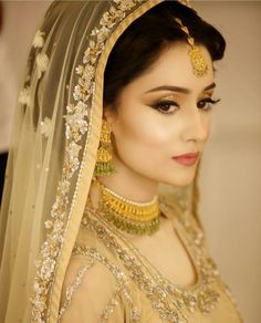 Break barriers and go with the look that suits your personality! These Valima looks sum up what you can go for during the wedding season for your ultimate Valima attire look. Pakistani Bridal Makeup, Pakistani Wedding Outfits, Bridal Outfits, Pakistani Dresses, Pakistan Bride, Pakistan Wedding, Bridal Makeover, Bridal Photoshoot, Asian Bride
