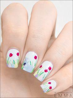 Le blog de Mademoiselle Emma easter #nail #nails #nailart