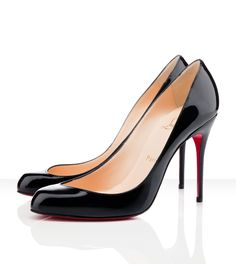1243456256a Discount Christian Louboutin Maudissima Patent Leather Pumps no sale   Christian  Louboutin Online Shop!  basic 1 view from side