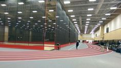 Auburn HS Fieldhouse in Tockford, IL. New Lithonia LED lighting and nlight controls.