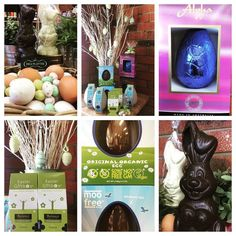 We've got Easter covered. From beautiful #Belgianchocolatebunnies and #birdseggs to #organicfairtrade #vegan #glutenfree #dairyfree #moofree #sugarfree. Something for everyone this #Easter @#thedeliplatter #mtdandenong