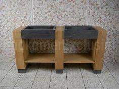 Teak badezimmermöbel ~ Waschbecken badmöbel console teakholz badezimmer