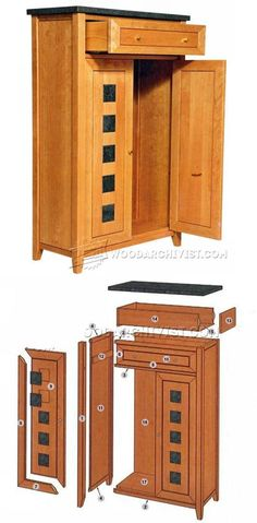 Cabinet Plans - Furniture Plans and Projects | WoodArchivist.com