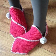 Chaussons en laine - Dabsanne