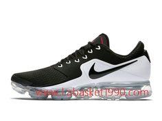 the latest f5e59 c598c Nike Air VaporMax AH9046-003 Chaussures de BasketBall Pas Cher Pour Homme  Noir Blanc-