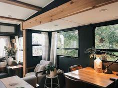 Tiny House Living, Rv Living, Mobile Living, Paint Rv, Rv Homes, Camper Renovation, Camper Remodeling, Rv Interior Remodel, Camper Makeover