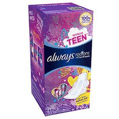 always teen pads - Google Search