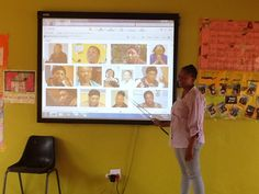 Training teachers on the use of the Smart Interactive Board at Besilindile Primary School. Interactive Board, Primary School, Classroom, Teacher, Training, Education, Coaching, Elementary Schools, Professor