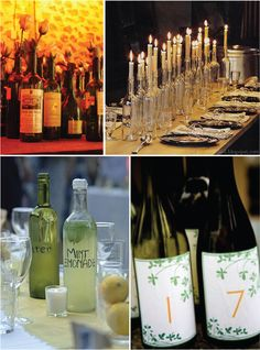 Recycle Bottle Centerpieces - Belle The Magazine