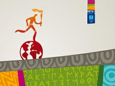 torch relay 2004 Olympics, Summer Olympics, Olympic Games, Athens, Letters, Letter, Athens Greece, Calligraphy