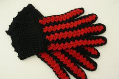Black Crochet Gloves, Cotton Good look with all ladies daywear designs. Sizes: One Size. Crochet Gloves, Craft Supplies, Handmade Items, Etsy, Vintage, Unique, Cotton, Goblin, Amazing