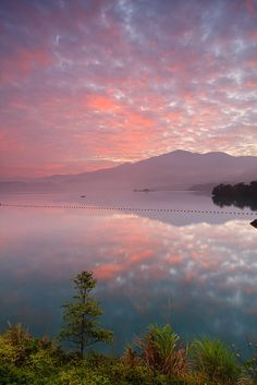 Sun Moon Lake, Taiwan. Stayed a few days in this area in a hotel with the view of the lake. Peace-filled place. I could sit and look at the lake for hours.