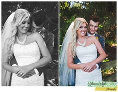 I love the marriage license pic and the pic where the from has one hand on the brides face for a smooch :)
